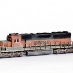 BNSF sd40-2 Locomotive