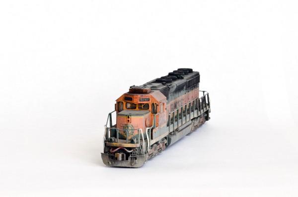 BNSF SD40-2 N-scale