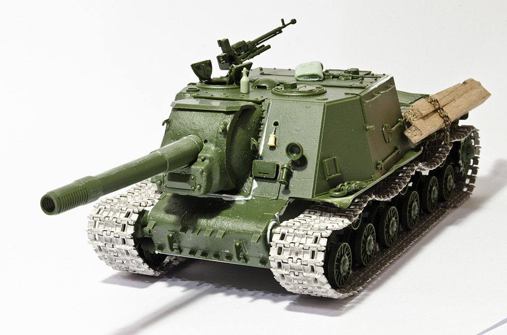 1/35 Tamiya ISU-152 Construction completed