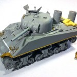 Sherman M4A2 construction complete