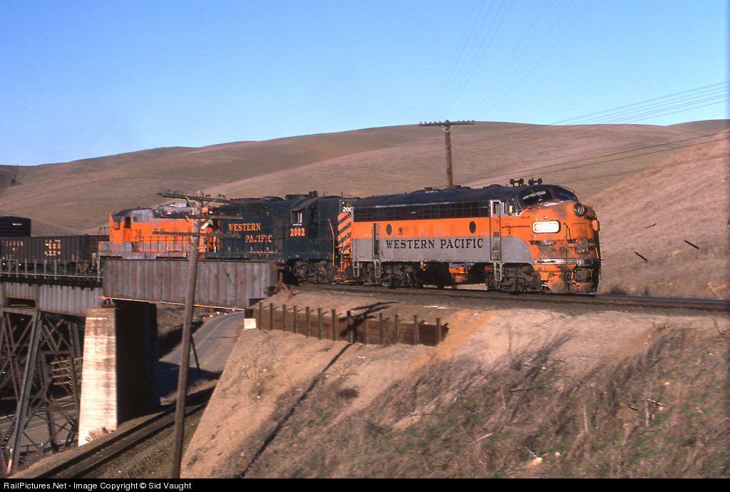 Western Pacific Railroad F-unit