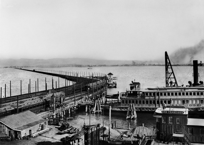 Key Route Basin from Key Route Pier, c.1910
