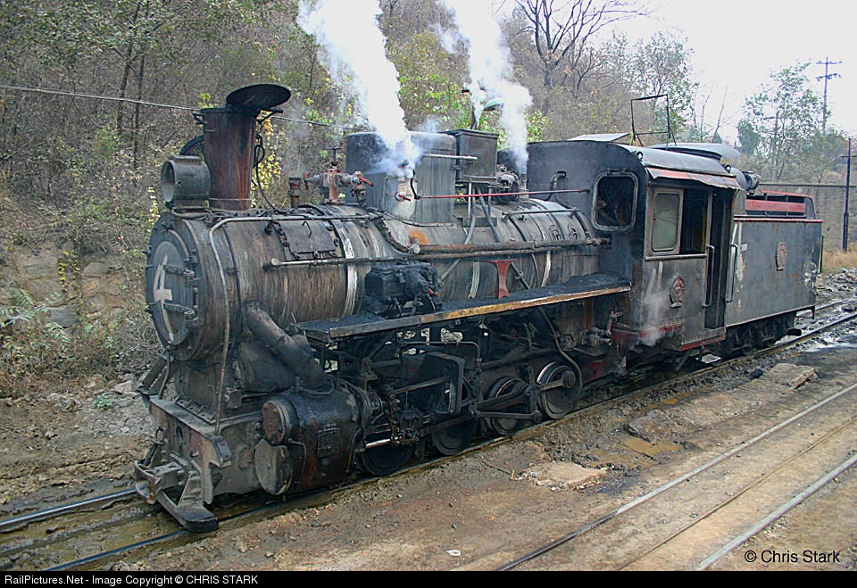 Dahuichang Limestone Railway Steam 0-8-0