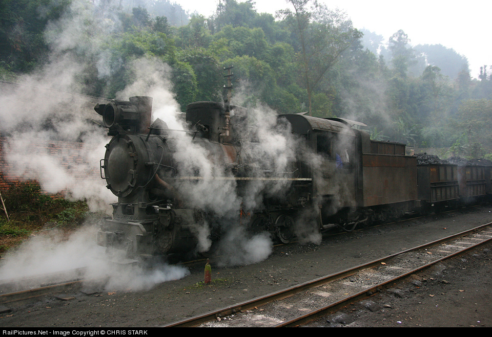 Shibanxi station Steam 0-8-0