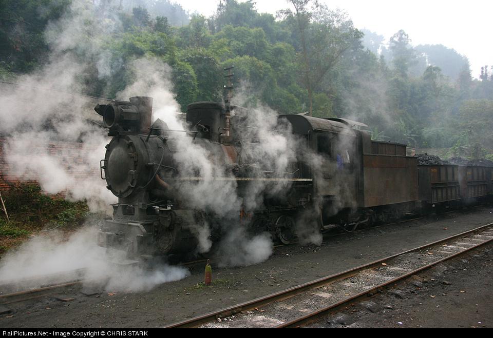 Shibanxi station Steam 0-8-0