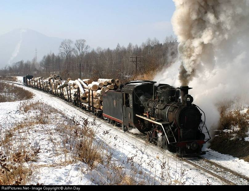Weihe Forestry Railway Steam 0-8-0