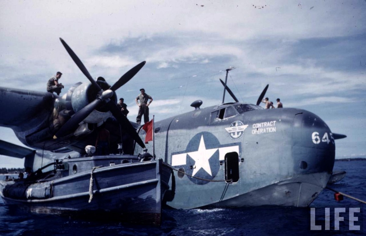 Martin PBM Mariner of Naval Air Transport Service