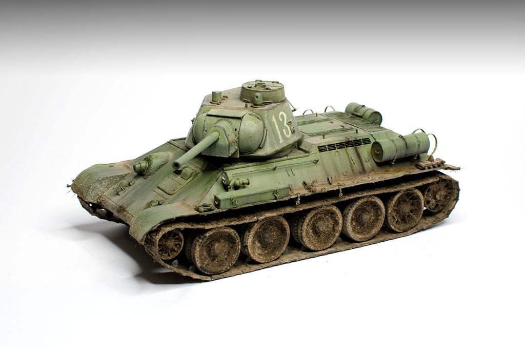 OT-34/76 Soviet Tank