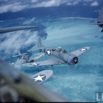 WWII Pacific Theatre in Color
