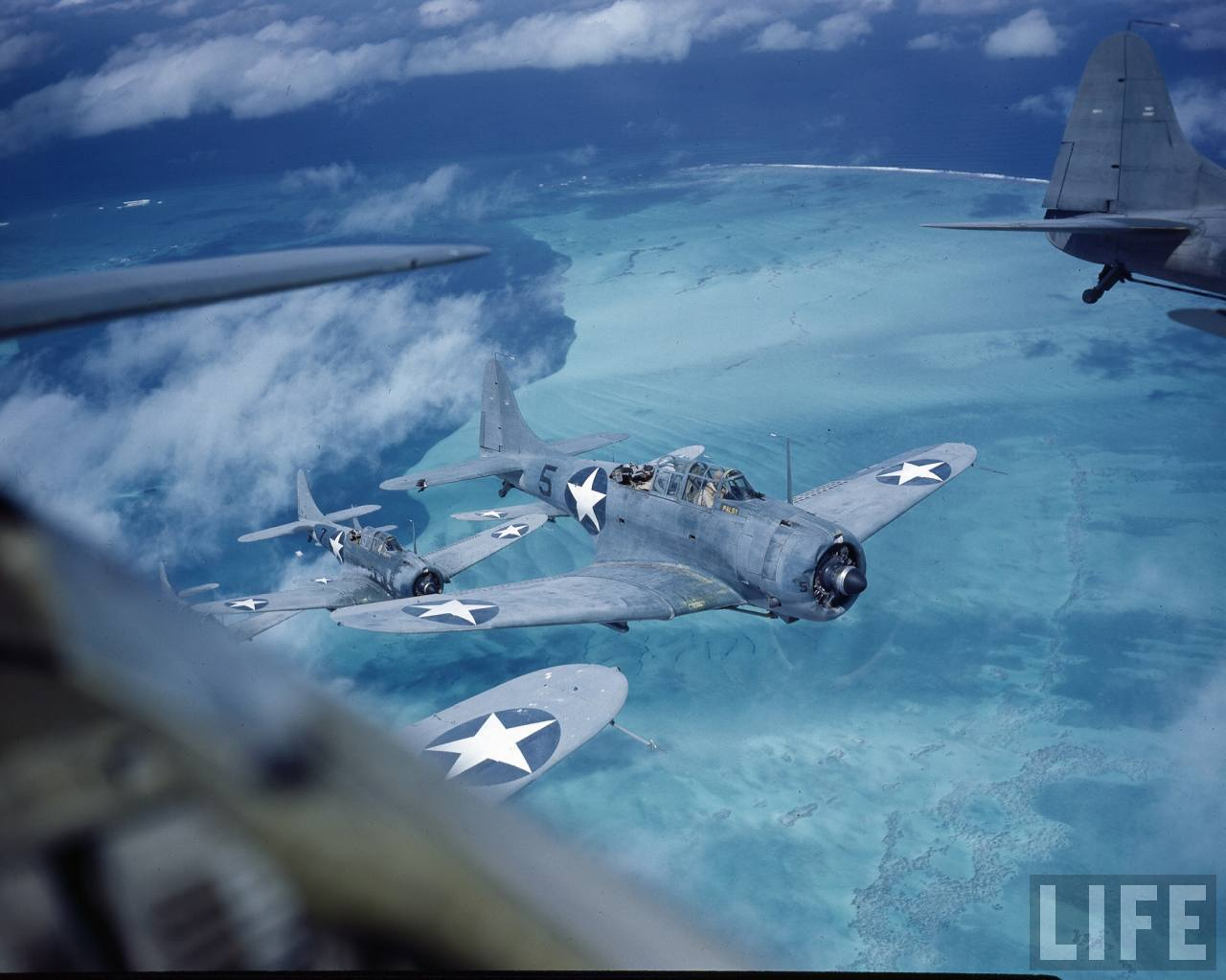 pacific dauntless wwii