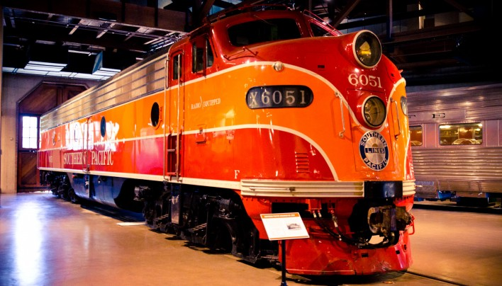California State Railroad Museum in Sacramento