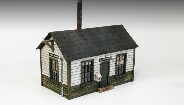 1:48 Scratch Built House