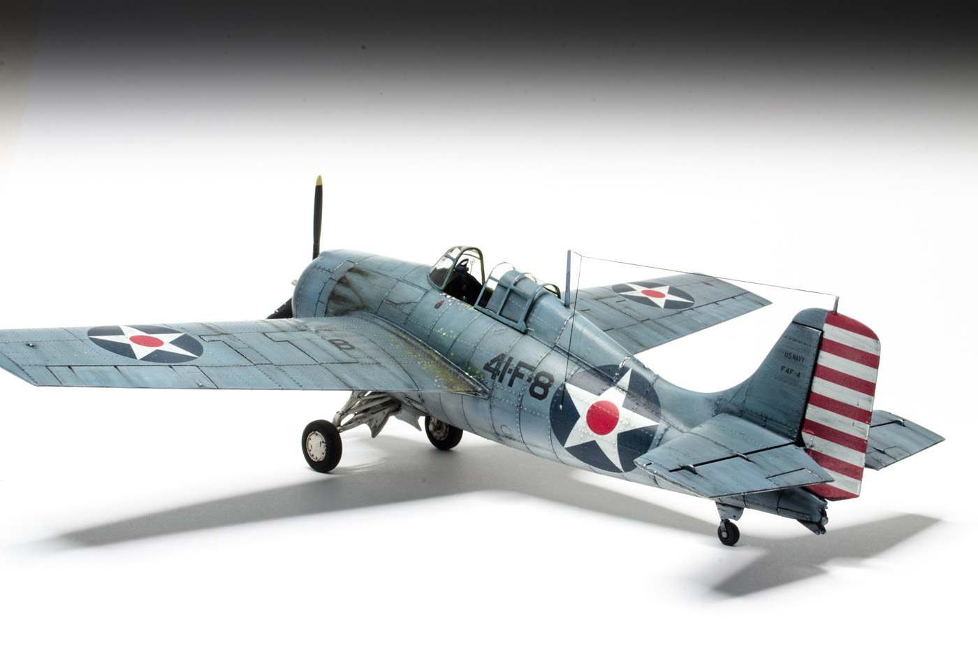 Dsc on Model F4f Wildcat 1 48