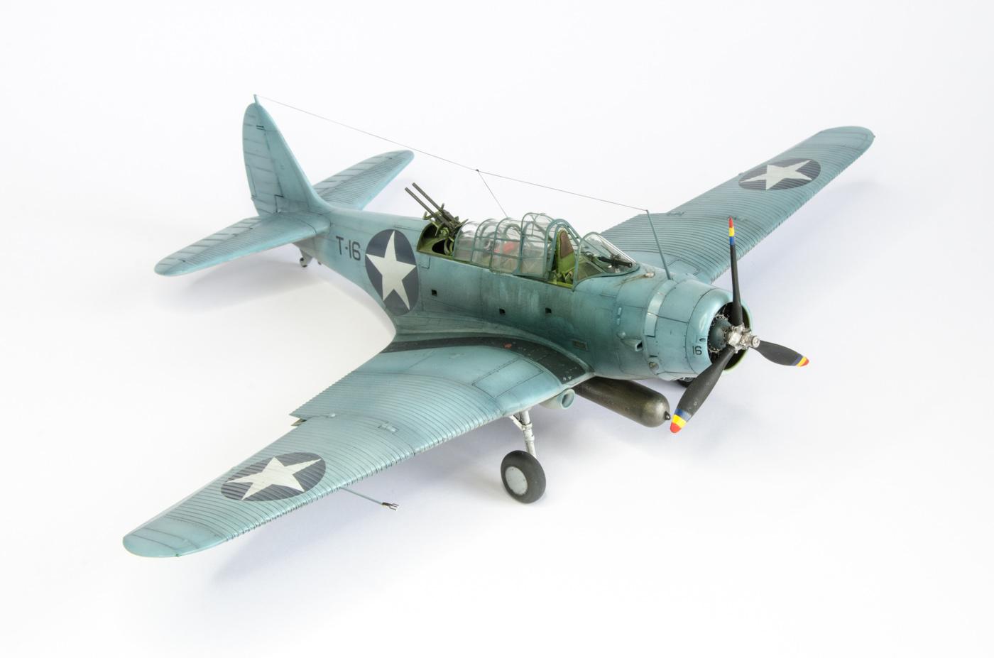 Dsc on Model F4f Wildcat 1 48