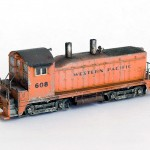 Western Pacific Railroad EMD NW2 N-scale
