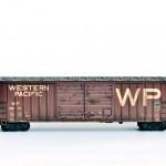 Western Pacific Railroad boxcar N-scale