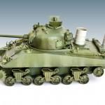Sherman M4A2 in progress