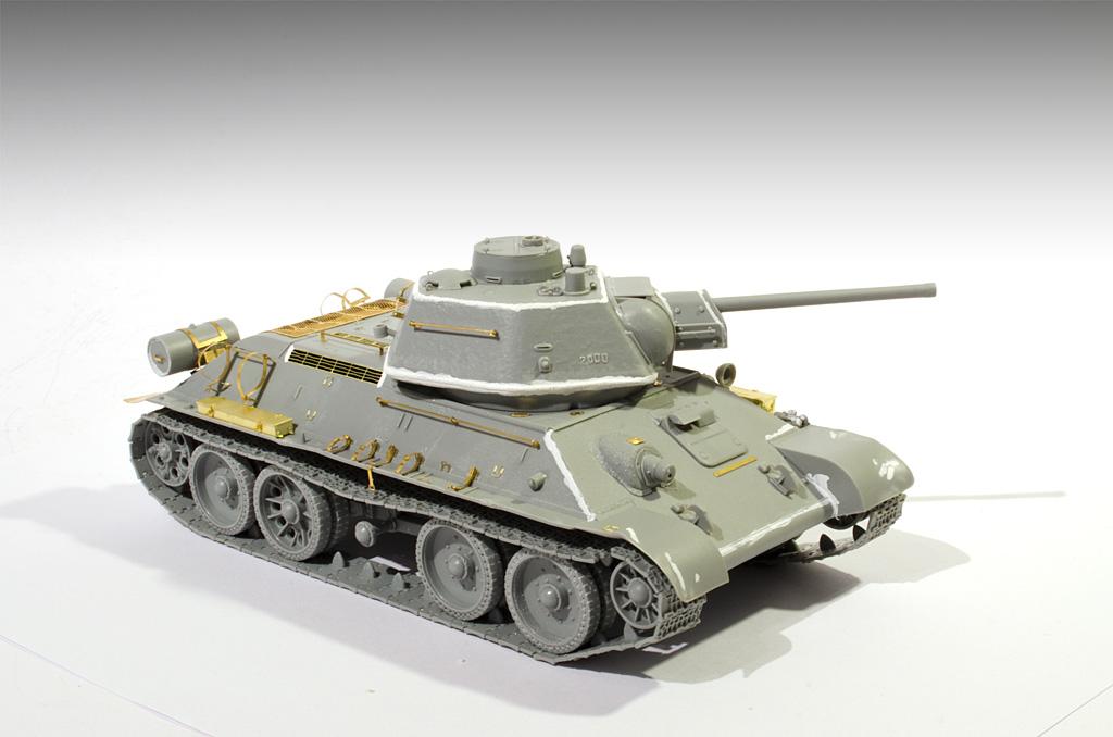 Soviet OT-34 Dragon Models 1/35