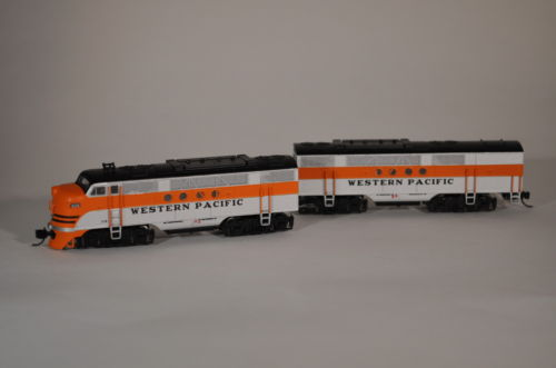 Intermountain Western Pacific Railroad FT N-scale