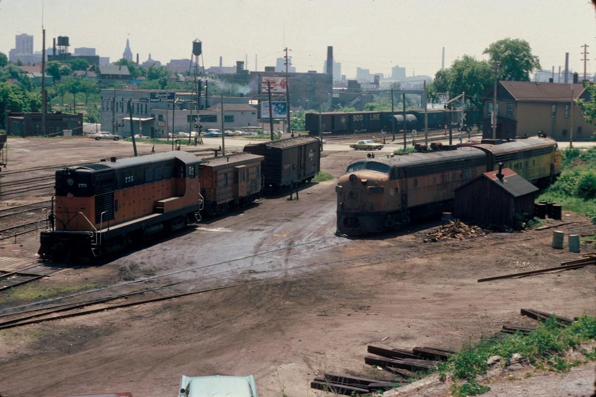 Humboldt yard 1976