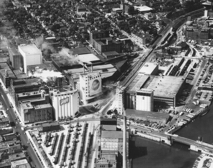 Schlitz Yard 1950s