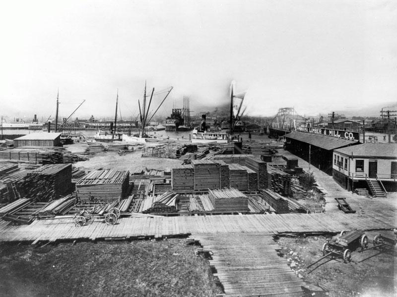 Oakland lumbermill