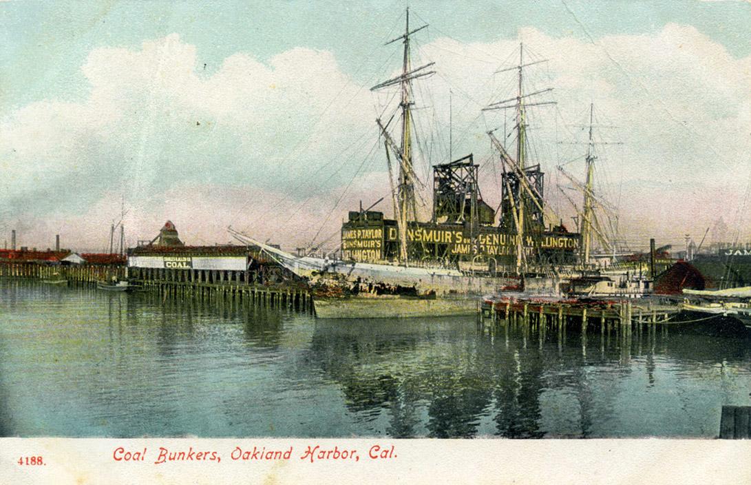 Coal Bunkers Oakland Harbor