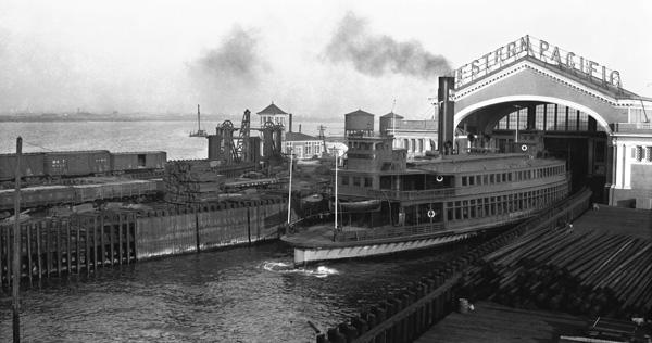 Ferry Jeffries, Western Pacific Mole, Oakland