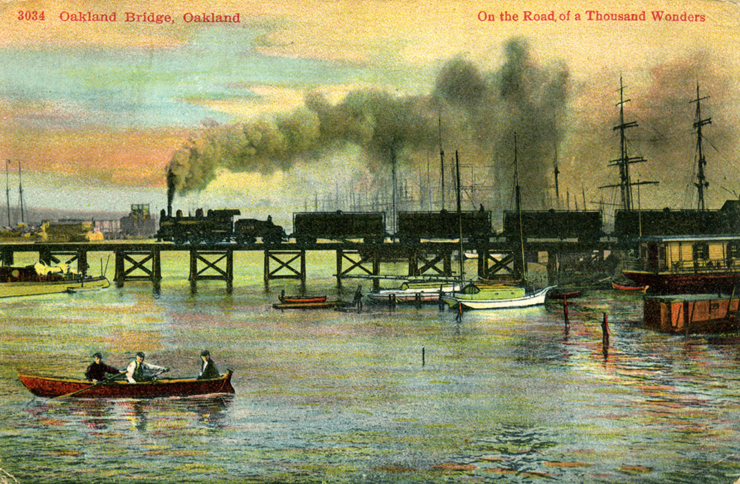 Oakland Bridge Oakland & Alameda California